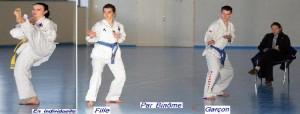 Les compétitons techniques en Taekwondo