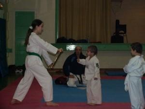 Baby Taekwondo sur Génissac