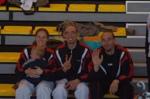 Fanny, Éric et Gaël
