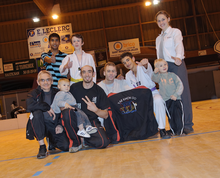 groupe-challengers-taekwondo-combat-aquitaine