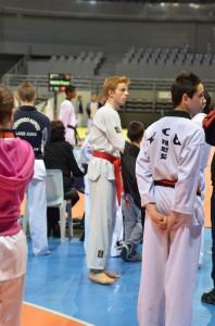Les Challengers vice Champions de France Technique-Taekwondo