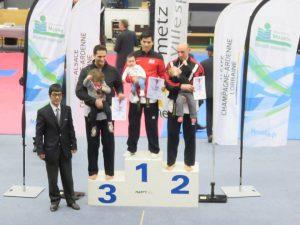Championnat de France Technique Poomsae 2016 à Metz