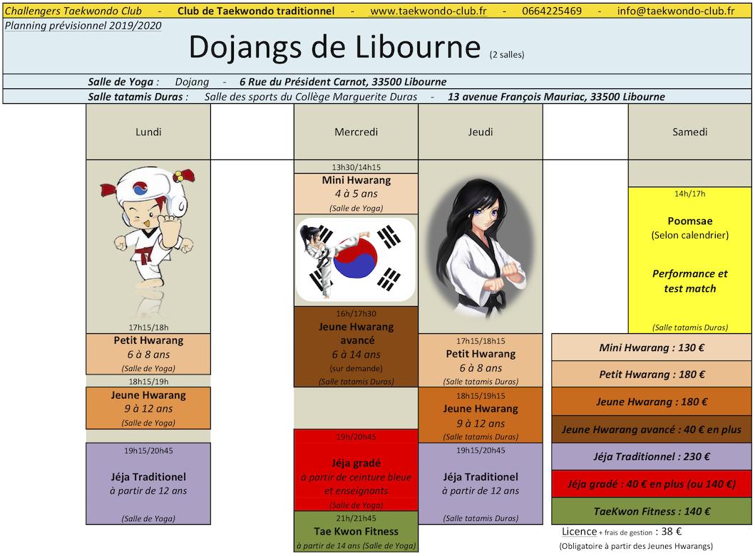 planning-tarifs-2019_20-taekwondo-club-libourne