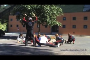 Délire de fin de saison : Le Harlem Shake lors de la compétition Main Ho à Béziers