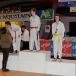 podium-lucas-taekwondo-aquitaine