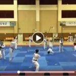 demo-taekwondo-universite-coreenne